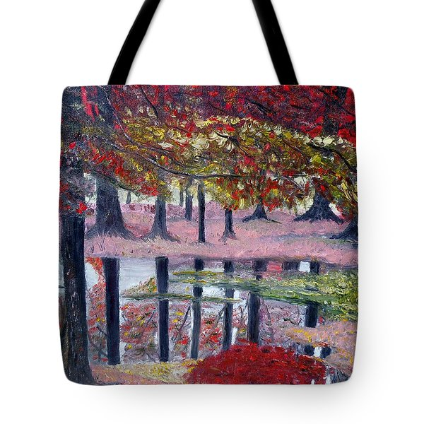 Natures Painting Tote Bag