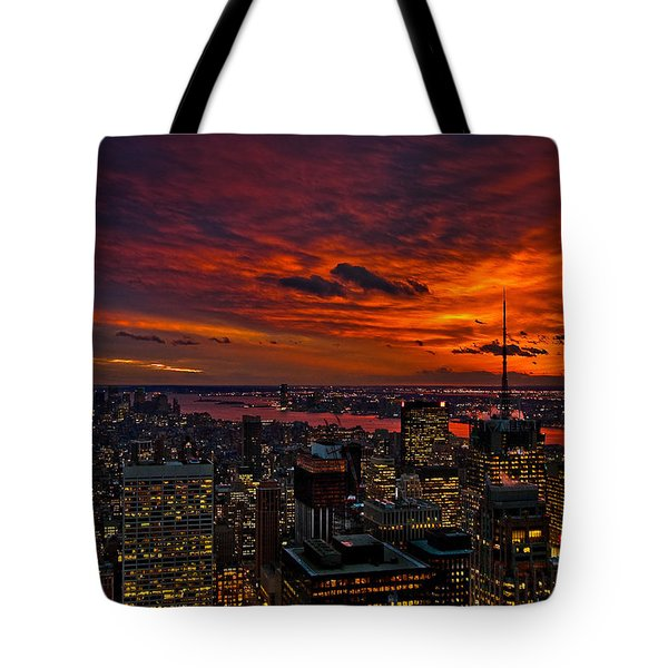 Nature's Palette Tote Bag