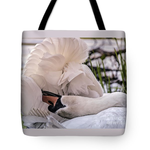 Tote Bag featuring the photograph Natures Parasol by Mary Lou Chmura