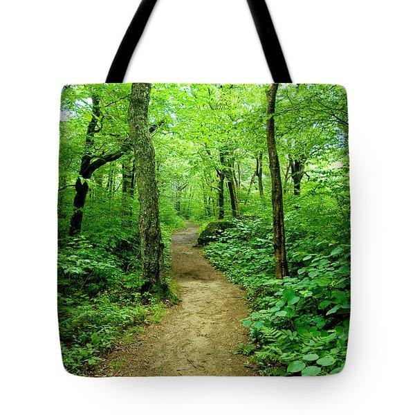 Nature's Path Tote Bag