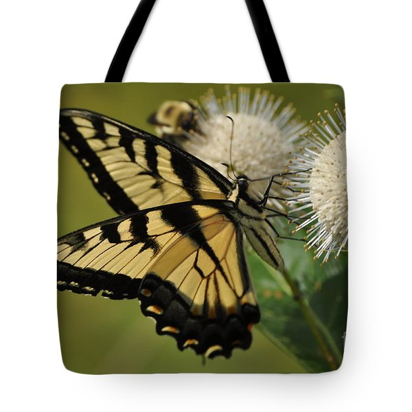 Natures Pin Cushion Tote Bag