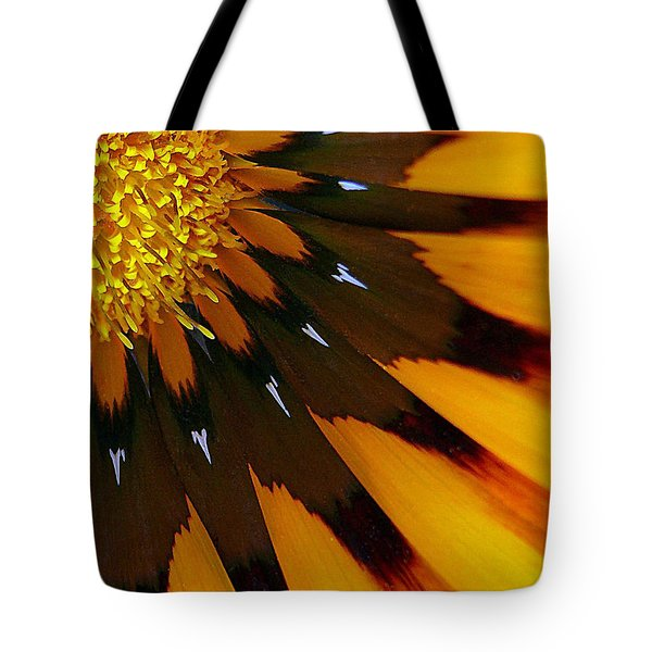 Tote Bag featuring the photograph Nature's Pinwheel by Marion Cullen