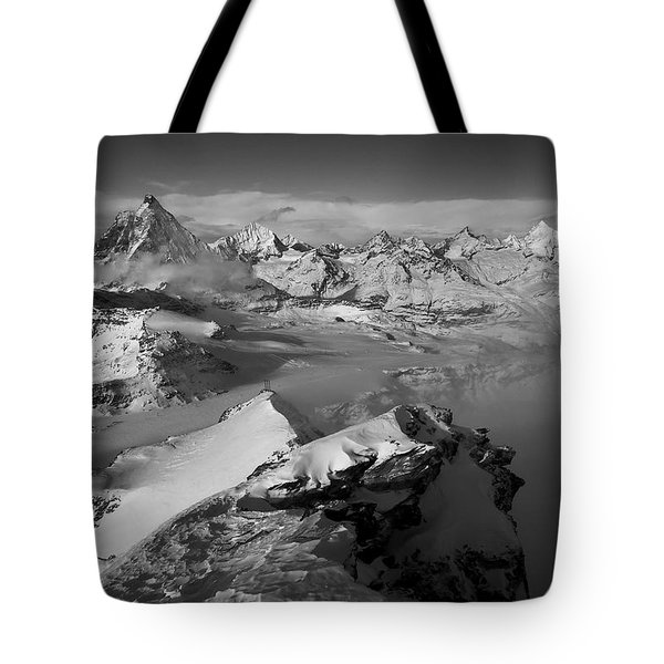 Natures Pyramids Tote Bag