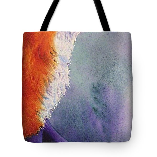 Natures Redhead Tote Bag by Tracy L Teeter