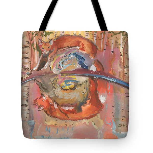 Nature's Reflection Tote Bag