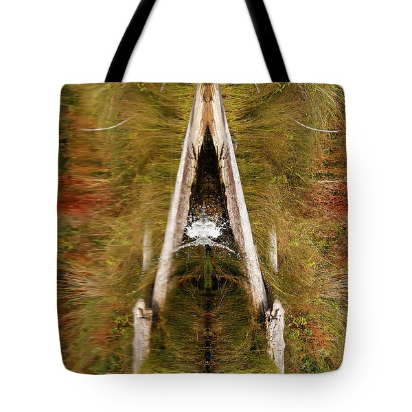 Tote Bag featuring the photograph Natures Reflection by Sue Harper
