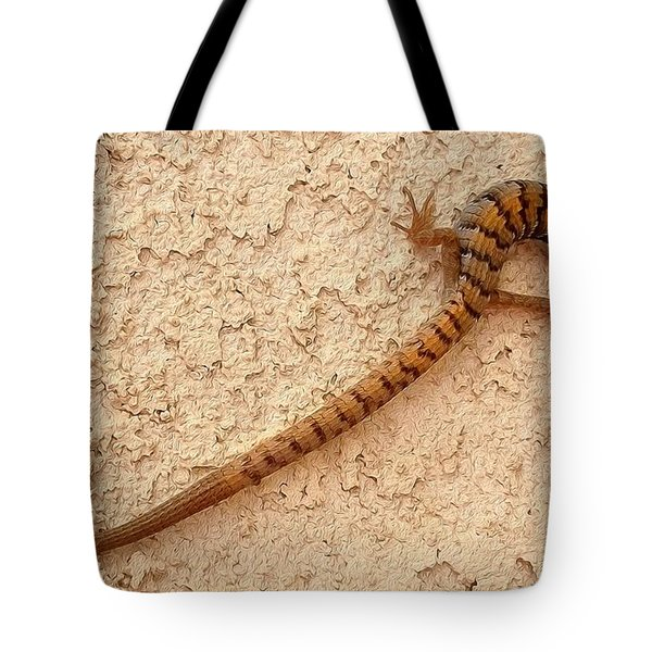 Natures S Curve Tote Bag