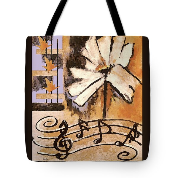 Tote Bag featuring the mixed media Natures Song by Jennifer Page