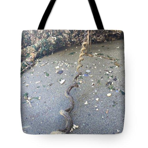 Nature's Spiral Tote Bag