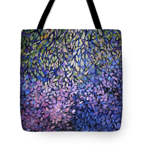 Natures Stain Glass Symphony Tote Bag