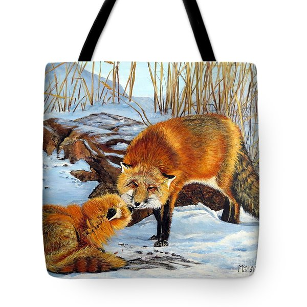 Natures Submission Tote Bag