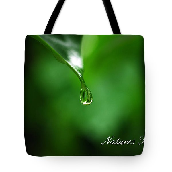 Natures Tear Tote Bag