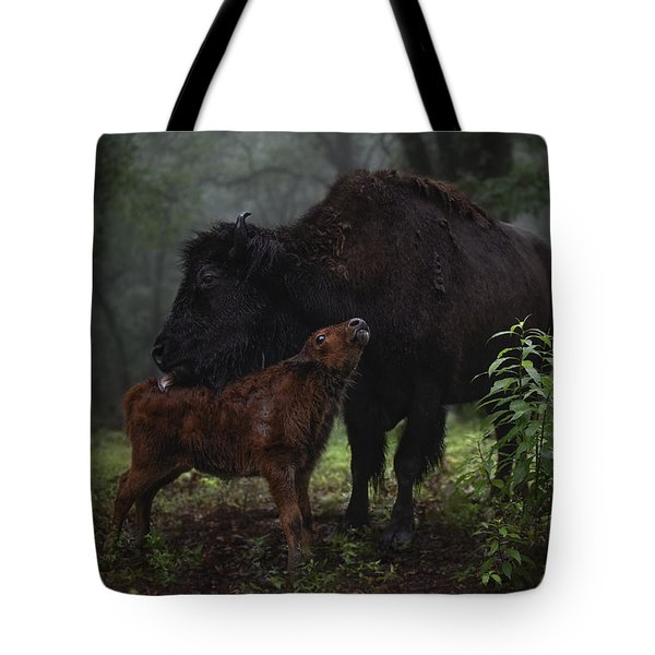 Natures Tender Moments Tote Bag