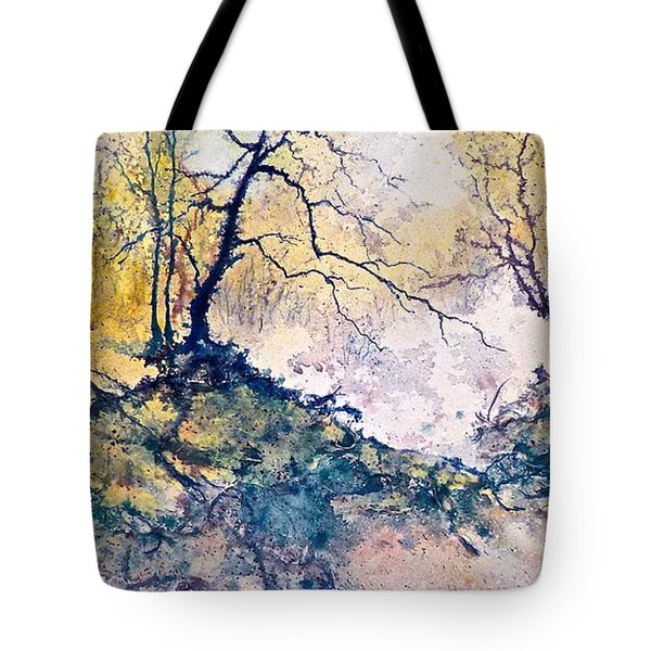 Nature's Textures Tote Bag