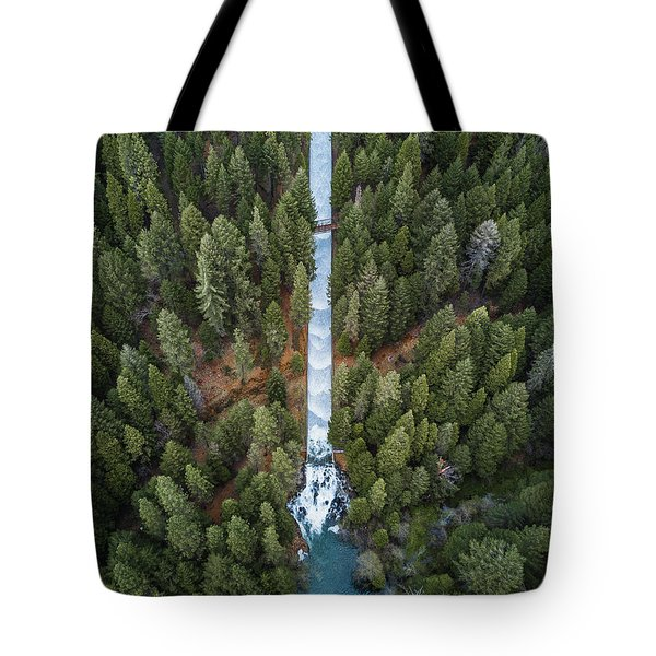 Natures Waterslide  Tote Bag