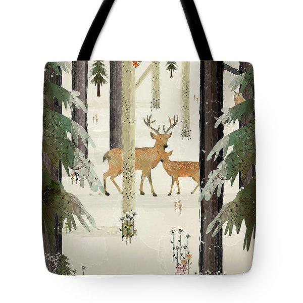 Natures Way The Deer Tote Bag