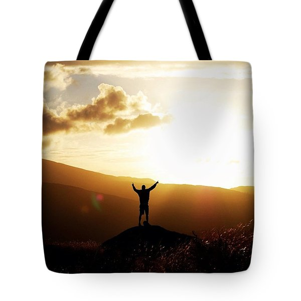 #nature#sunset#trip#sky#lakedistrict Tote Bag by Skulova Katka