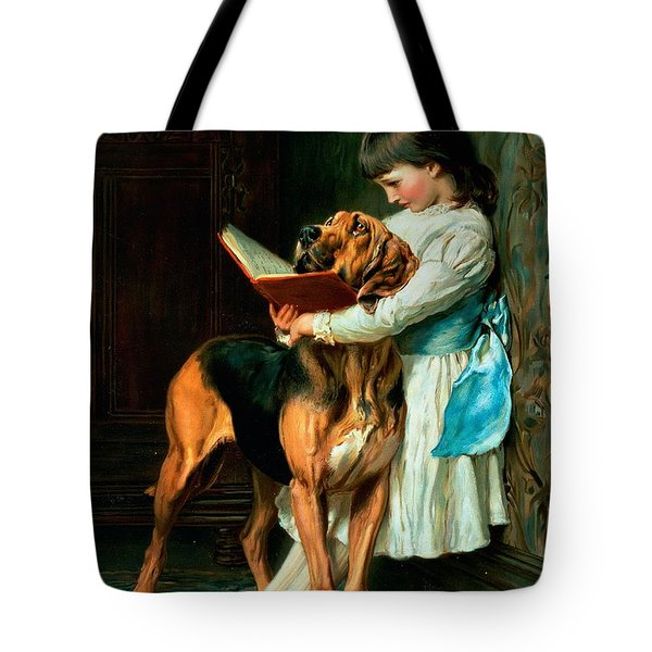 Naughty Boy Or Compulsory Education Tote Bag by Briton Riviere