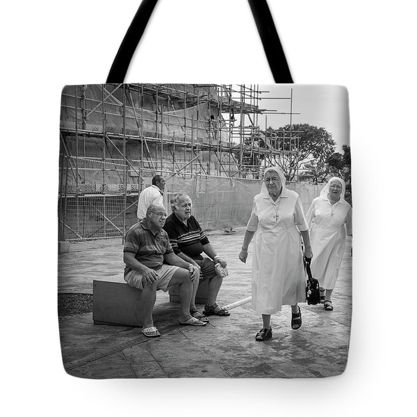 Tote Bag featuring the photograph Naughty Boys by Hans Janssen