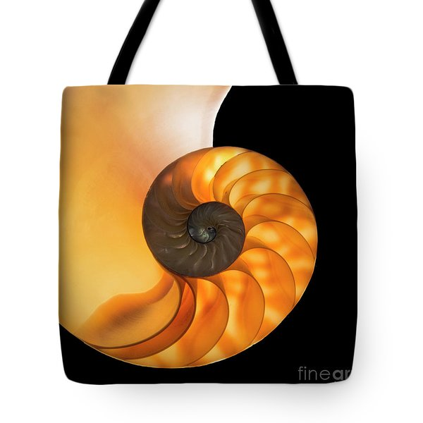 Tote Bag featuring the photograph Nautalis by Brian Jones