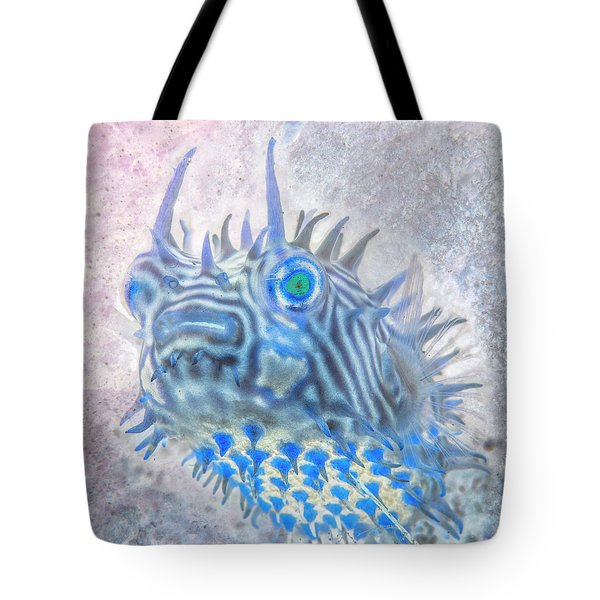 Tote Bag featuring the photograph Nautical Beach And Fish #12 by Debra and Dave Vanderlaan