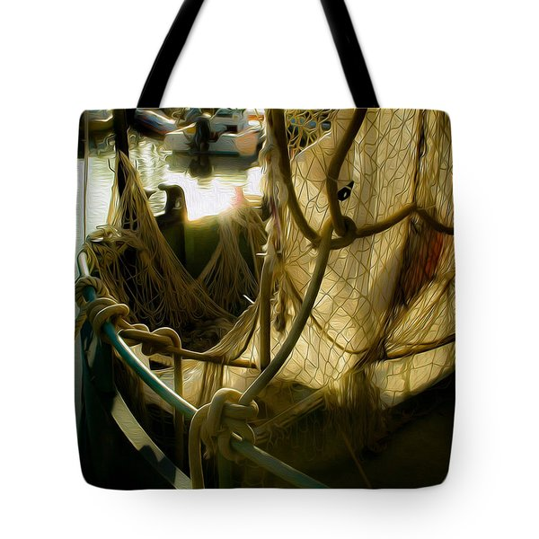 Nautical Dreams Tote Bag