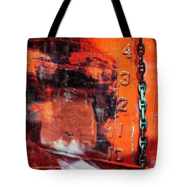 Nautical Industrial Art Again Tote Bag
