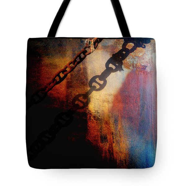 Nautical Industrial Art Tote Bag
