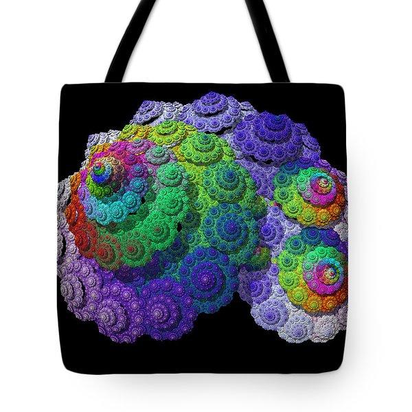 Nautical Love Spiral  Tote Bag