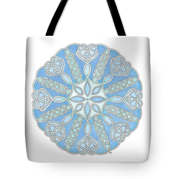 Nautical Mandala 2 Tote Bag