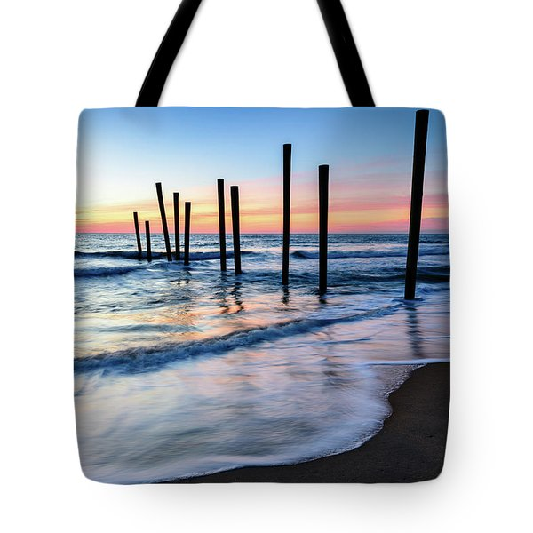 Nautical Morning Tote Bag
