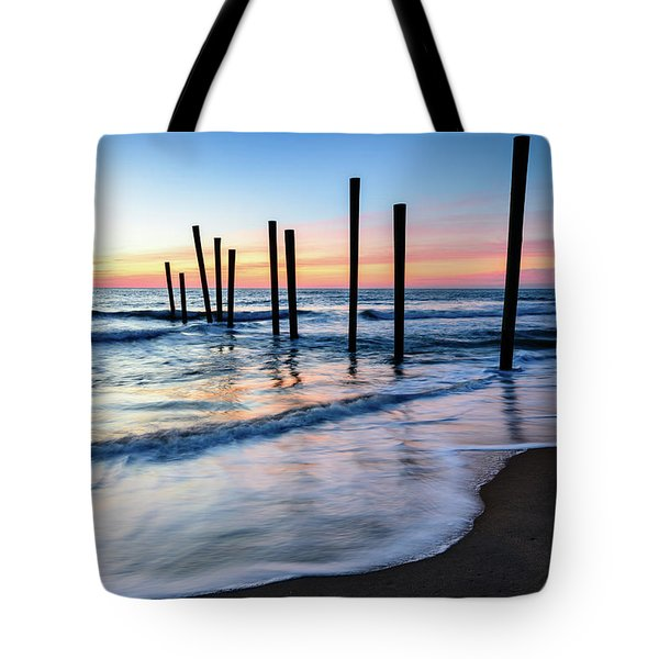 Nautical Morning Tote Bag