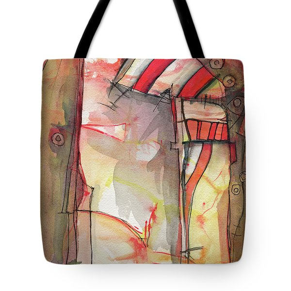 Nautical Mystery Tote Bag by Sandra Church