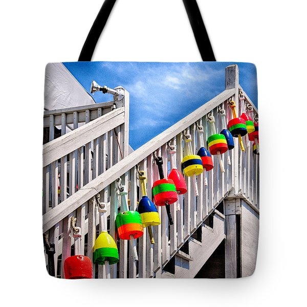Nautical Stairway Tote Bag