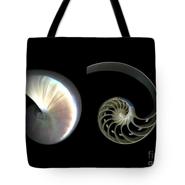Nautilus Deconstructed Tote Bag