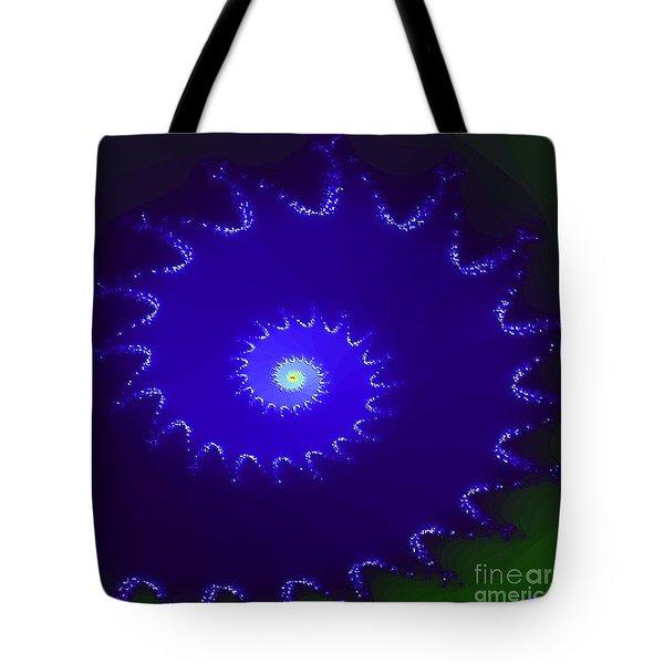 Tote Bag featuring the digital art Nautilus by Dragica  Micki Fortuna