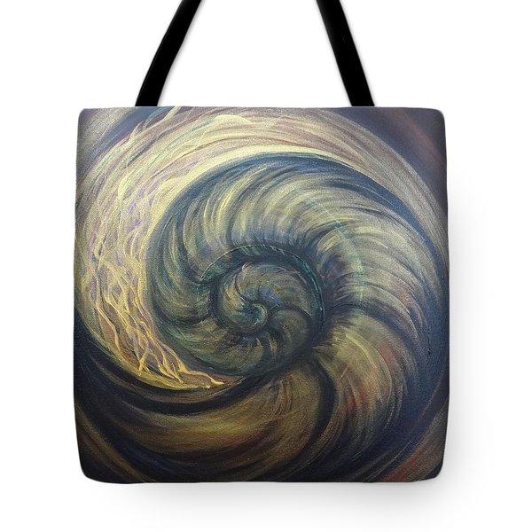 Nautilus Spiral Tote Bag