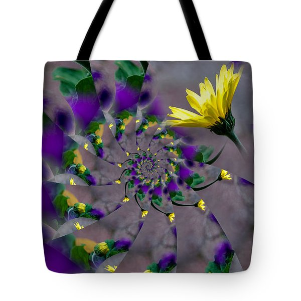 Nautilus Swirls Tote Bag