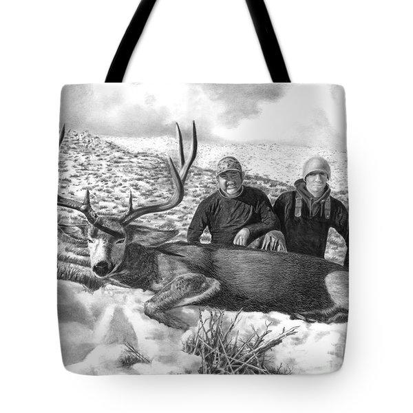 Navada Hunt 2015 Tote Bag by Peter Piatt