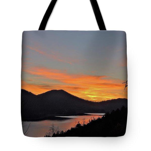 Navaho Lake Tote Bag