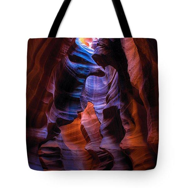Navajo Curtains Tote Bag