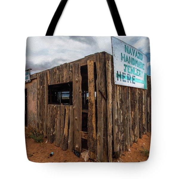 Navajo Jewelry Tote Bag