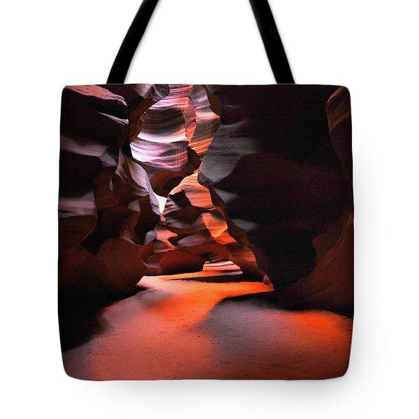 Navajo Magic Antelope Canyon Tote Bag