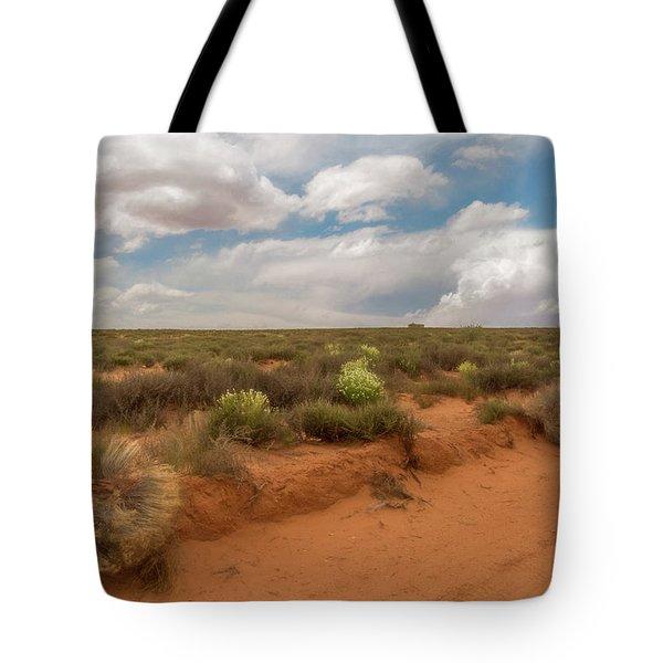 Navajo Reservation Tote Bag