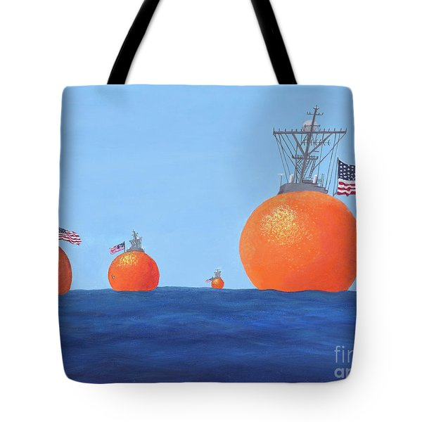 Naval Oranges Tote Bag