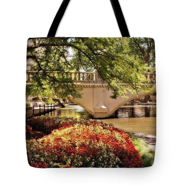 Navarro Street Bridge Tote Bag