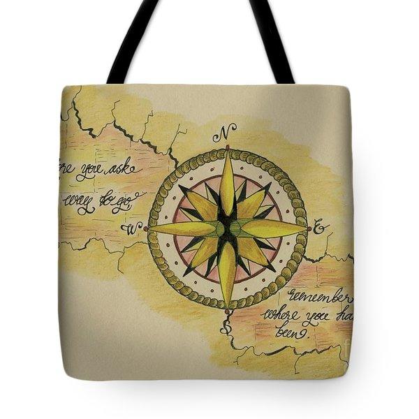 Navigate Home Tote Bag