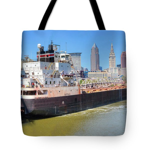 Navigating The Cuyahoga Tote Bag