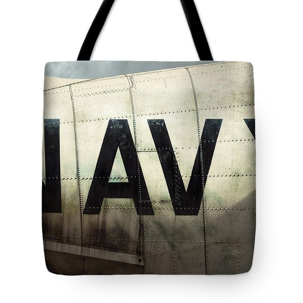 Tote Bag featuring the photograph Navy - Kaman K-16b Experimental Aircraft by Gary Heller