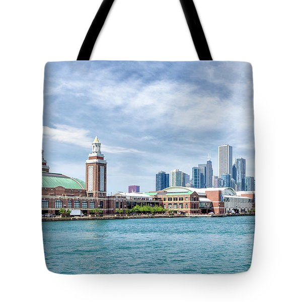Navy Pier - Chicago Tote Bag